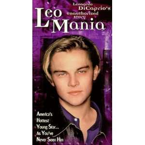 Leo Mania Dicaprios Unauthorized Story [VHS]: Hosted By