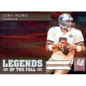 2011 Donruss Elite Legends of the Fall Gold #23 Tony Romo