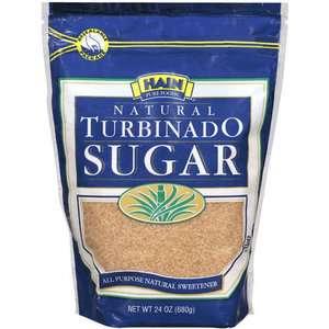 Hain Pure Foods Natural Turbinado Sugar, 24 Oz