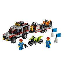 LEGO City Dirt Bike Transporter (4433)   LEGO   Toys R Us