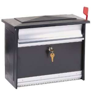 Solar Group MSK00000 Extra Large Lockable Security Wall Mount Mailbox