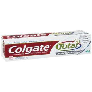 Colgate Total Advanced Clean Plus Whitening Anticavity Fluoride And
