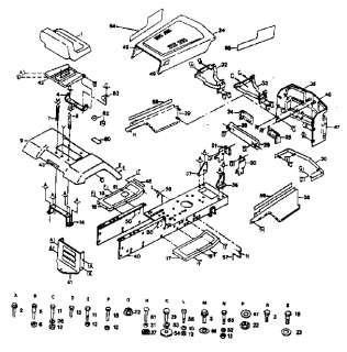 CRAFTSMAN Tractor Enclosure Parts