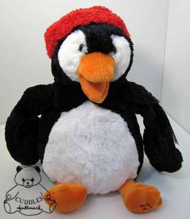 Animated Penguin Musical Gund Plush Toy Stuffed Animal Christmas