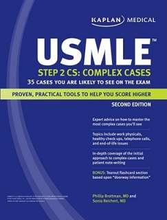 Kaplan USMLE Step 2 CS: Complex Cases: 35 Cases You Are Likely to See