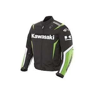 Joe Rocket Kawasaki Replica Supersport Jacket   Large/Black/Green