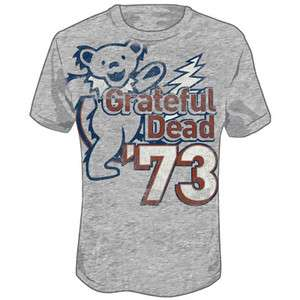 New Grateful Dead 1973 Vintage Bears T shirt tee top