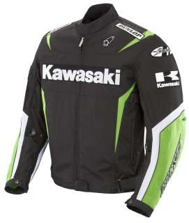 Joe Rocket Green Kawasaki Supersport Jacket Medium M