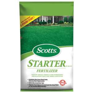 Scotts Starter Fertilizer, 5m Garden Center