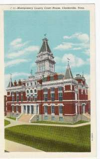 Tennessee, TN,Clarksville Montgomery County Court House