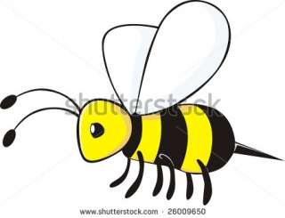 Cartoon Bee Stock Vector 26009650 : Shutterstock