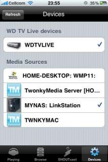 App Store   WD TV Live Remote