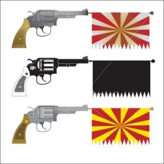 Pop Gun Royalty Free Stock Vector Art Illustration