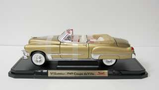 1949 Cadillac Coupe deVille Diecast Model Car   118 Scale   Yat Ming