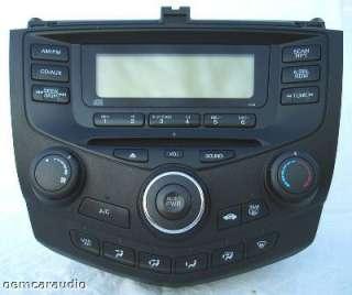 2003 2004 2005 2006 2007 Honda Accord Radio Single CD Player 2AX0