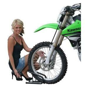 3 1/2W Removable Dirt Bike Wheel Chock Kit: Automotive