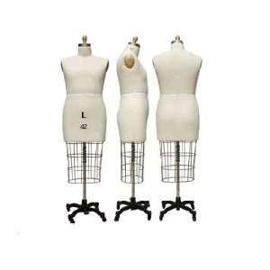 Half Body Male Dress Form Size 42
