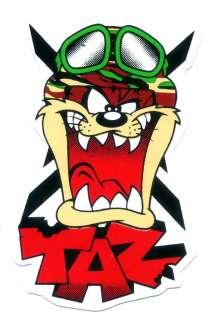 Taz Tasmanian Devil Army USA Air Force Car Sticker T83