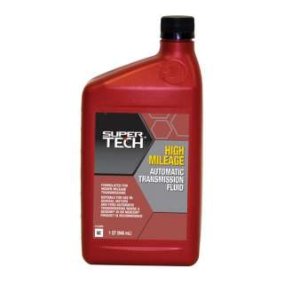Super Tech High Mileage Automatic Transmission Fluid, 1 qt Automotive