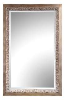 leaf wall mirror this large mirror features a detailed wood frame