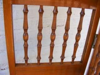 Lt Brown Wood Bi fold Foldable Shutter Decorative Door Screen ROOM