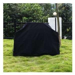 Veranda Cart Barbecue BBQ Grill Cover, XL, Black Patio
