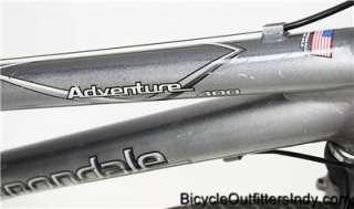 Cannondale Adventure 400 24sp Hybrid Bike Silver   USED