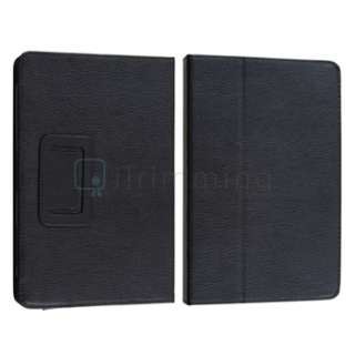 Premium Flip Folio Leather Carrying Case Cover Pouch with Stand