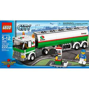 LEGO City   Tank Truck: Building Blocks & Sets