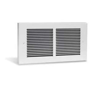 240V Register Plus Fan Forced Wall Heater in White