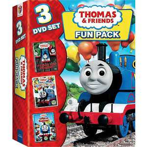 Thomas & Friends Fun Pack   3 DVD Set Its Great To Be
