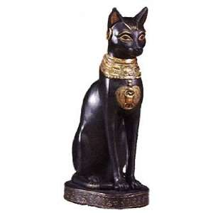 Egyptian Bastet Cat Goddess Statue Ancient Egypt 5069