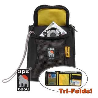 Tri Fold Digital Camera Case & Passport Travel Wallet Digital Cameras