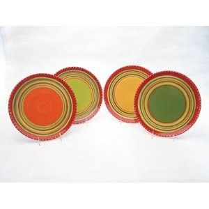 Walmart Certified International Hot Tamale Dinner Plates (Set of