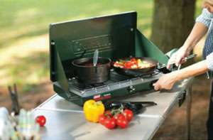 This Coleman propane stove sports 2 independently adjustable 10,000