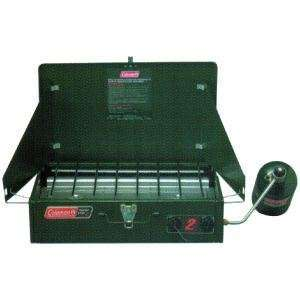 Coleman Propane Stove, With Two 8,000 BTU Burners Sports