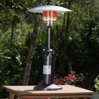 Fire Sense Old World Bronze Finish Table Top Patio Heater