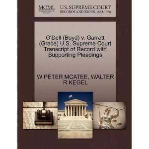 ODell (Boyd) v. Garrett (Grace) U.S. Supreme Court