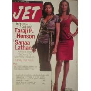Jet Magazine September 8 2008 Jaraji Henson & Sanaa Lathan: Jet: Books