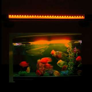 High Quality Aquarium Fish Tank White Blue Yellow Red Three Colors LED