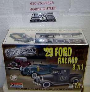 1929 Ford Rat Rod 3in1 Model Kit APRIL GMS CUSTOMS HOBBY OUTLET
