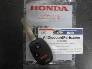 2008 Genuine Honda Fit Sport Key with Keyless Entry Remote
