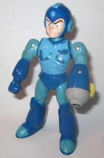 2004 Bandai Mega Man Action Figure Rockman (WORN)
