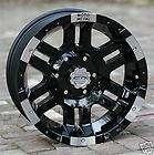 17 inch Black Wheels/Rims MOTO METAL 951 Chevy Gmc 1500 Trucks 6 lug