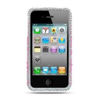 Splash DIAMOND Bling Cover 4 Apple iPHONE 4 4S Rhinestone JEWEL CASE