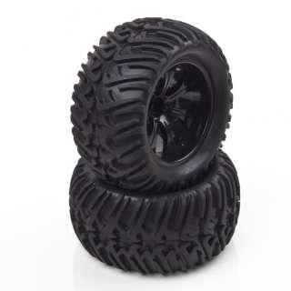 RC 1/10 Tires Wheel Tyre Monster Bigfoot Car Truck 6404