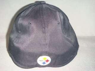 PITTSBURGH STEELERS NFL REEBOK HAT CAP FADEOUT BLACK