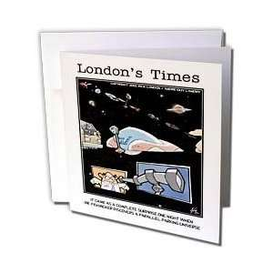 Cartoons   Parallel Parking Universe   Greeting Cards 6 Greeting Cards