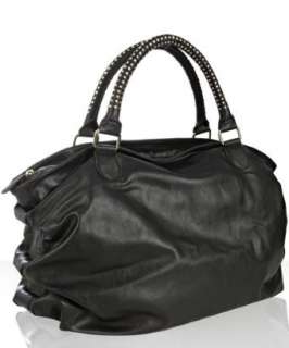 Steve Madden black faux leather ruched BStudz bag   up to 70