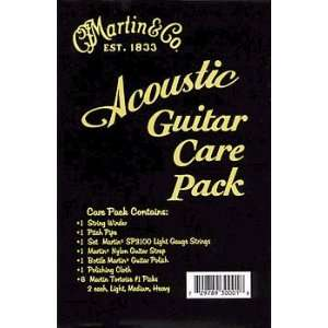 Martin Acoustic Guitar Care Kit Musical Instruments